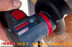 Is This a New Bosch 12V Max Brushless Cut-Off Tool or Angle Grinder?