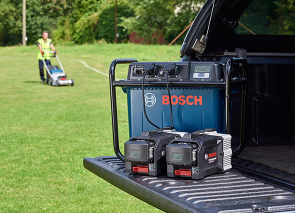 Bosch Mobile Power Unit Battery Charging