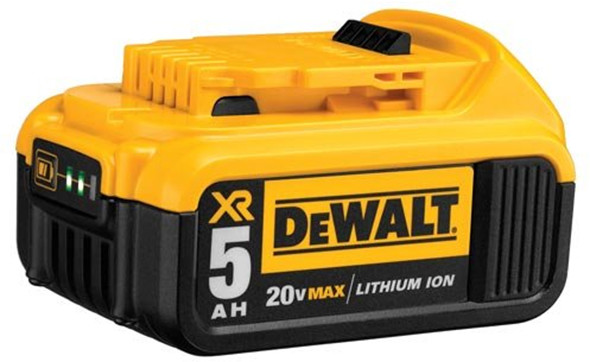 Dewalt 20v max battery life