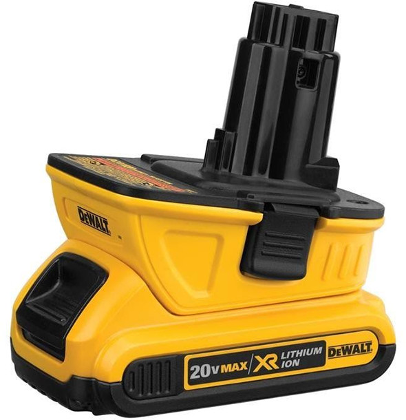 First Look Dewalt Dca1820 20v Max 18v Battery Adapter
