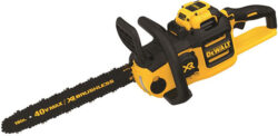 Coming Soon: Dewalt 40V Max Brushless Chainsaw