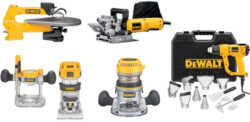 Hot Deal: Save a LOT on These Dewalt Woodworking Tools, Today Only (9/16/15)!