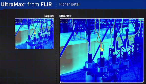 Flir UltraMax Thermal Imaging Camera Resolution Enhancement