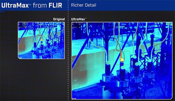 Flir UltraMax Thermal Imaging Camera Resolution Enhancement