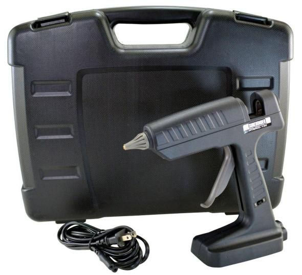 Surebonder Hybrid-120 Hot Glue Gun Uses Ryobi Batteries to