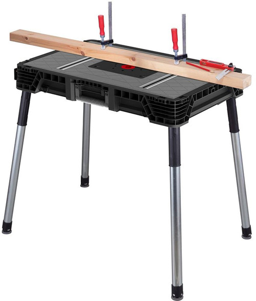 New husky portable clamping workbench greentooth Image collections