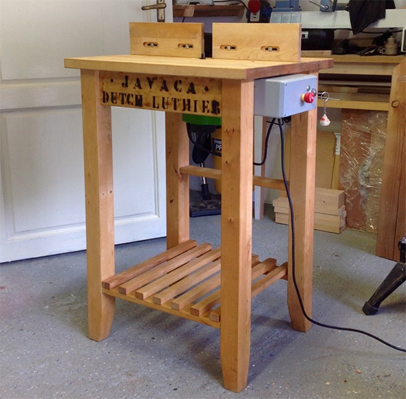 Diy router table from ikea parts - Table jardin bois ikea ...