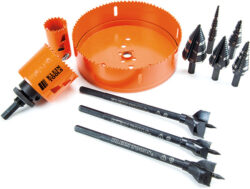 New Klein Holemaking Drill Bits, Step Bits, and Hole Saws
