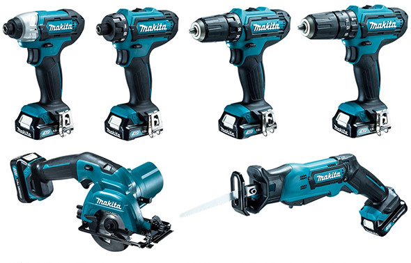 Makita 12V CXT Cordless Power Tools