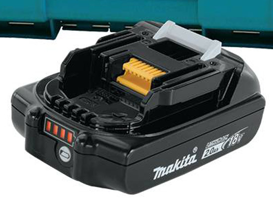 Makita 18V 2Ah Battery with Fuel Gauge
