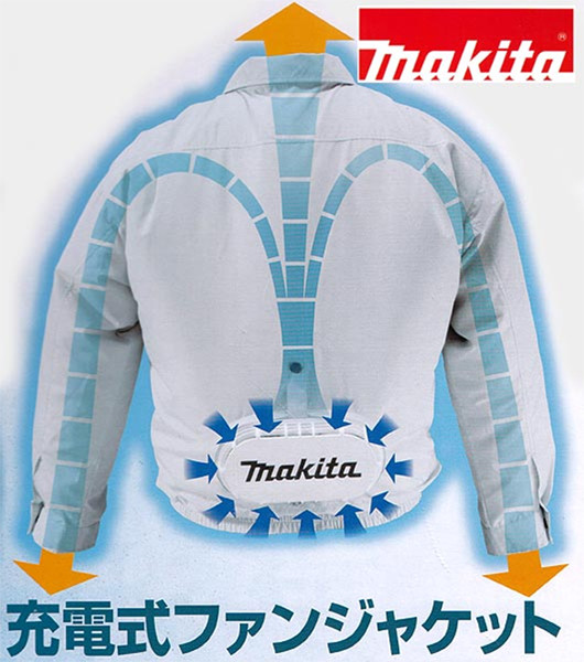 Makita Cordless Cooling Jacket