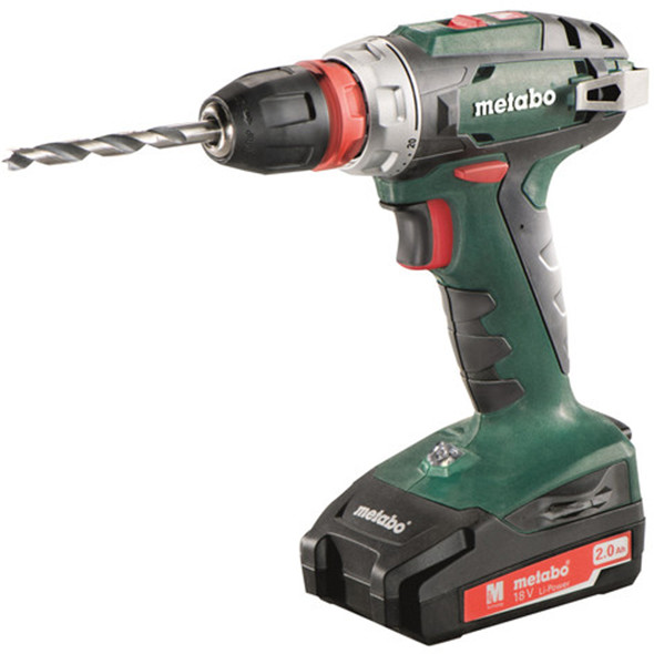 new metabo bs18 18v drill driver. Black Bedroom Furniture Sets. Home Design Ideas