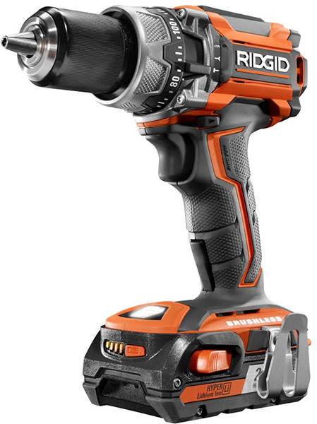 Coming Soon Ridgid 18v Brushless Impact Driver Hammer Drill 5ah Battery