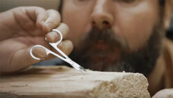 """Ginger-Rubbed """"Hand Crafted"""" $1000+ Artisanal Firewood…"""