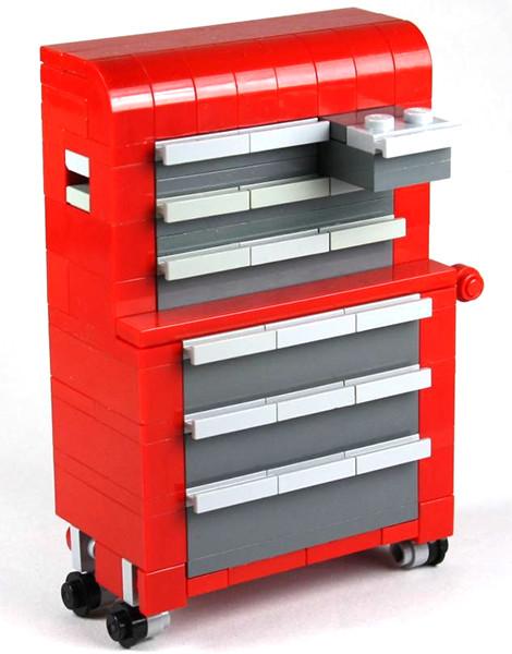 Ben Johnson Lego Craftsman Tool Chest
