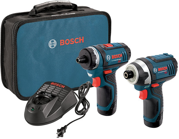 Bosch CLPK27-120 12V Max Screwdriver and Impact Driver kit