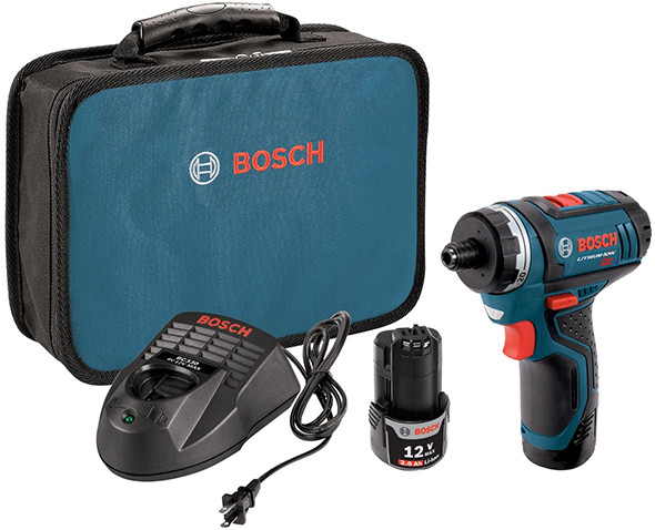 Bosch PS21 12V Max Screwdriver Kit 2015