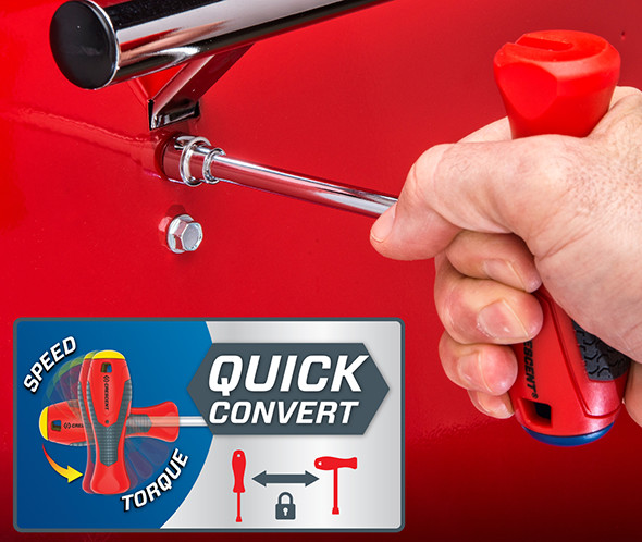 Crescent Quick Convert Nut Driver Set