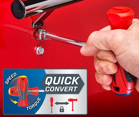 Crescent Quick Convert Nut Driver Set