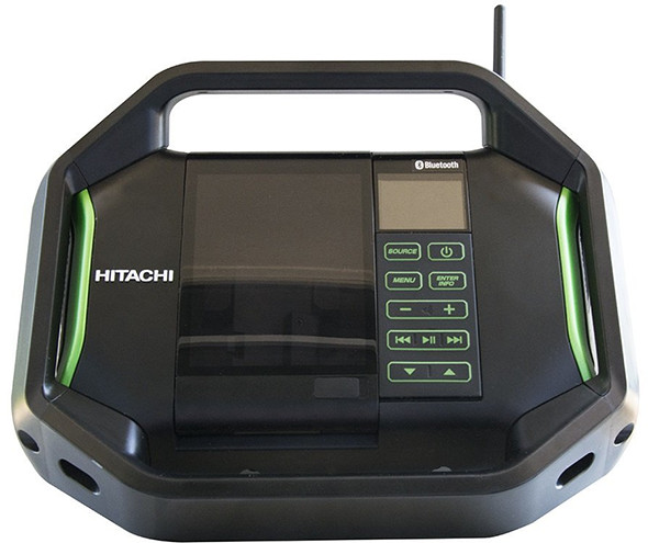 Hitachi 18V Bluetooth Radio UR18DSALP4 Front