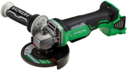 "New Hitachi 18V Brushless Angle Grinder with ""Auto Mode Option"""