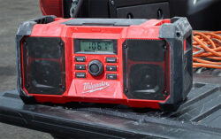 New Milwaukee Jobsite Radio Offers Some Nice Updates