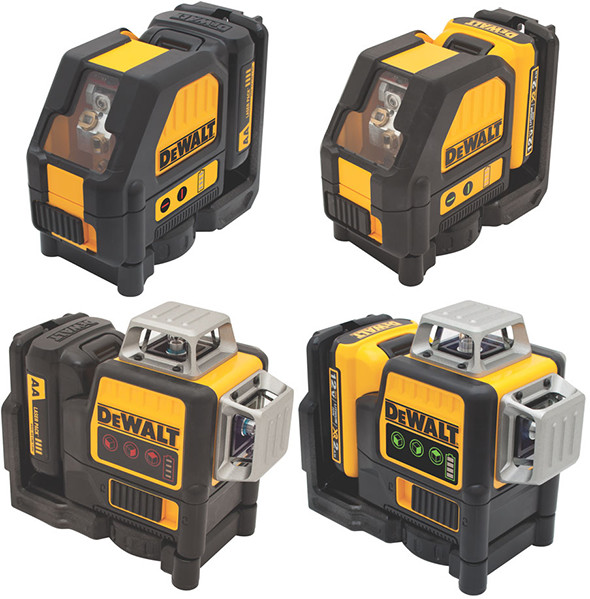 New Dewalt Line Lasers Red Vs Green