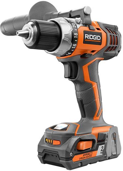 Ridgid R86008P 18V Drill Kit