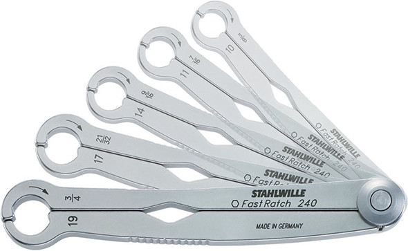Stahlwille FastRatch Ratcheting Wrench Set