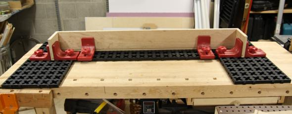 Using the X-Mat System to assemble a valance box