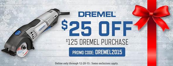 Acme Tools Holiday 2015 Dremel Promo