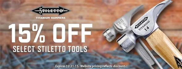 Acme Tools Holiday 2015 Stiletto Promo