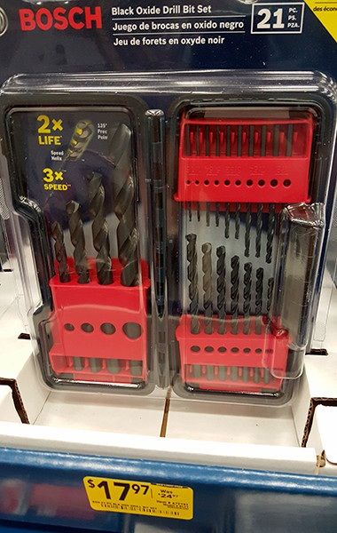 Bosch 21pc Drill Bit Set Lowes Holiday 2015