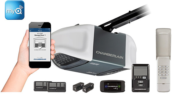 chamberlain door openers s transmitter remote is garage myq itm security image loading opener