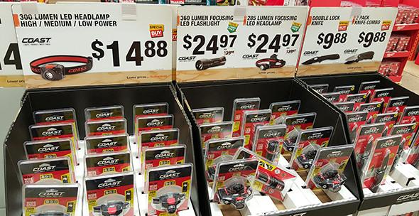 Coast LED Flashlights Black Friday 2015 Home Depot Deal
