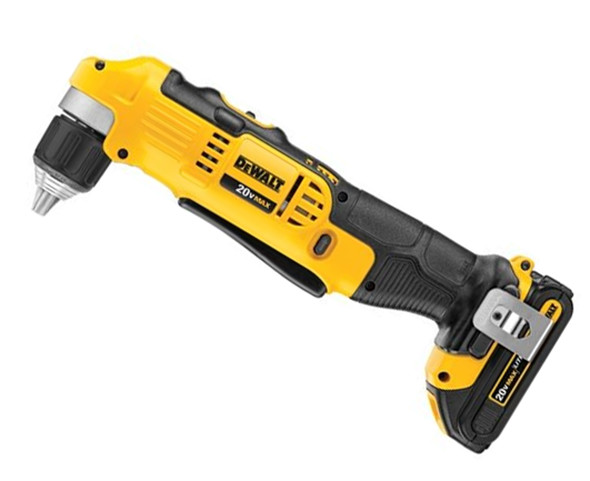 DEWALT DCD740C1 20V Max Right Angle Drill Kit