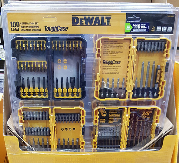 Dewalt 100pc Drilling and Driving Bit Set Lowes Holiday 2015