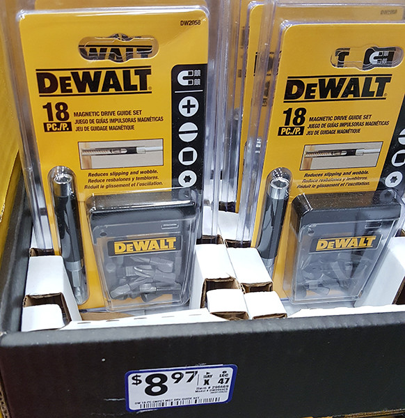 Dewalt 18pc Screwdriver Bit Set Lowes Holiday 2015