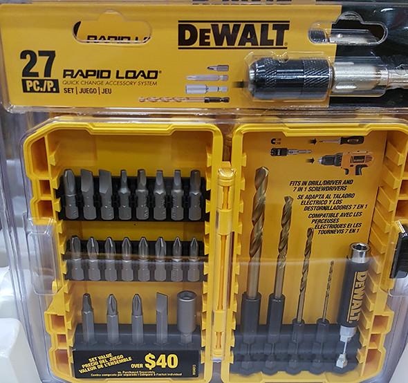 Dewalt 27pc Rpaid Load Screwdriver Bit Set Lowes Holiday 2015