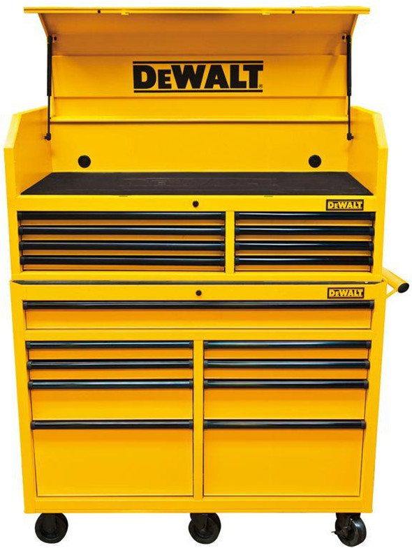 New Dewalt 52 Ball Bearing Tool Storage Combo Is A Black