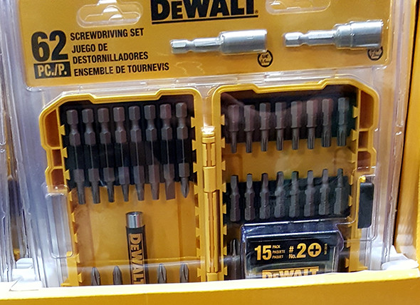 Dewalt 62pc Screwdriving Set Lowes Holiday 2015