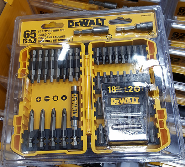 Dewalt 65pc Screwdriving Set Lowes Holiday 2015
