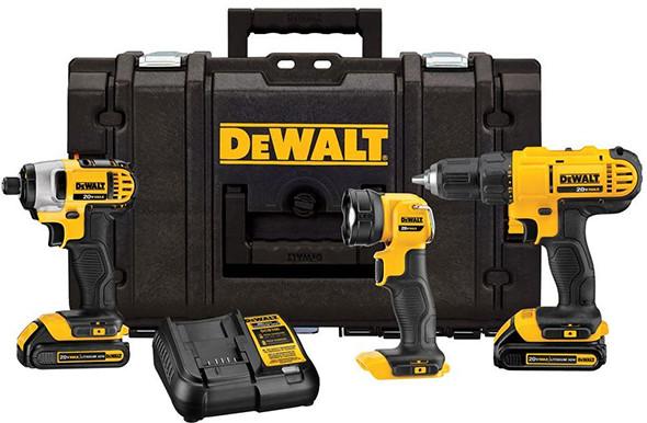Dewalt DCKTS340C2 Cordless Combo Kit