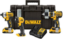 HOT Deal on This Dewalt Brushless Cordless Combo Kit!