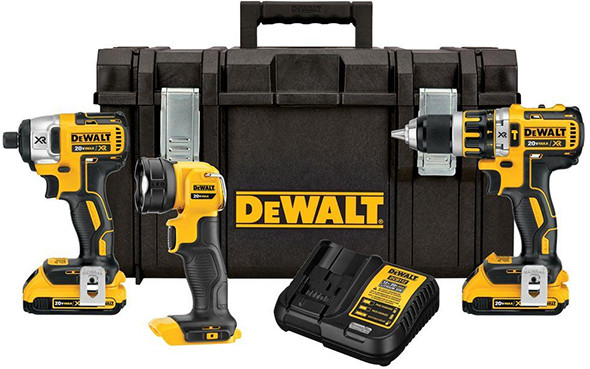 Hot Deal On This Dewalt Brushless Cordless Combo Kit