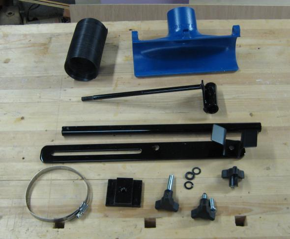 Dust Right Lathe Dust Collection System Parts