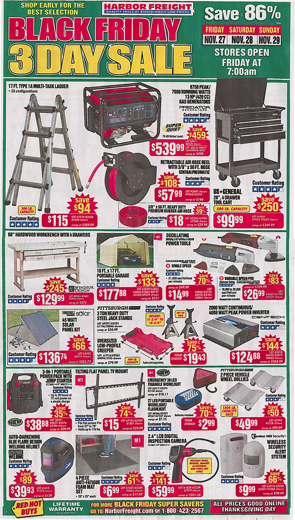 harbor freight black friday 2015