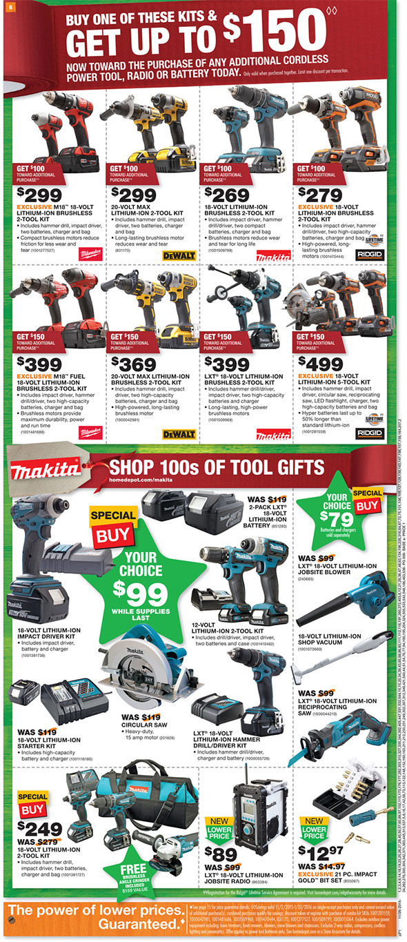 Home Depot Black Friday 2015 Tool Deals Page 2
