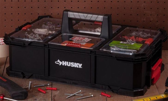 Husky Nail Caddy Filled With Parts