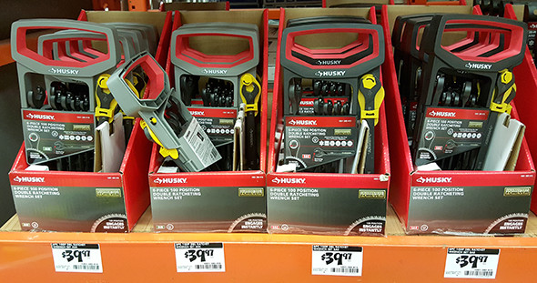 Husky Ratcheting Wrench Sets Home Depot Holiday 2015